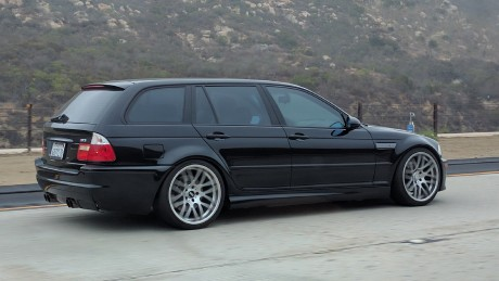 BMW E46 M3 Touring black rear